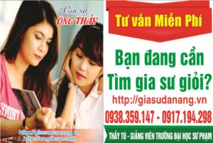 dạy kèm tại Đà Nẵng